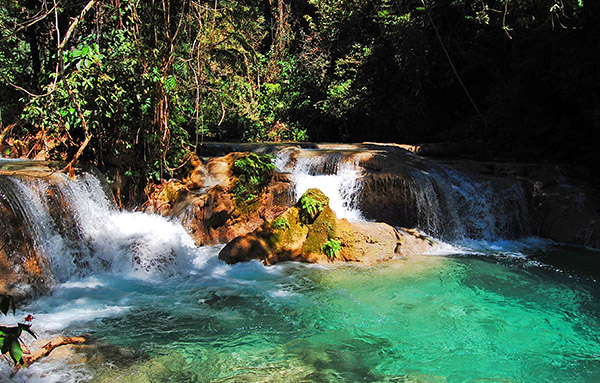 Magic Waterfall Tour Huatulco Mexico