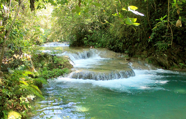 waterfall Llano Grande Magic ATV jungle Huatulco Oaxaca