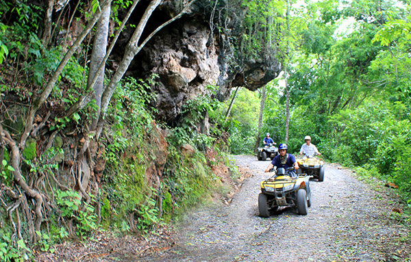 ATV jungle Tour Huatulco Mexico