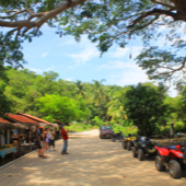 road trip jungle Huatulco Mexico quad