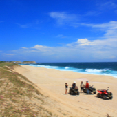 ATV beach bay huatulco tour